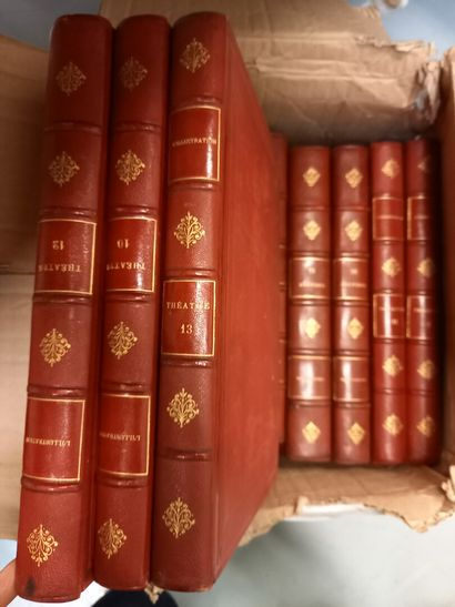 L'Illustration : théâtre 10 volumes