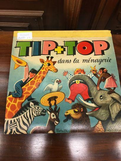 Tip Top dans la ménagerie  Livre Pop up  très...