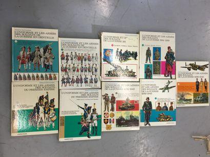 Lot de livres CASTERMAN l'uniformes et les...
