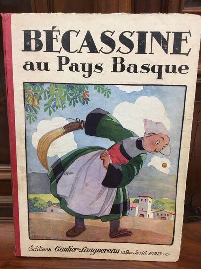 Becassine Pays Basque Ed 1930