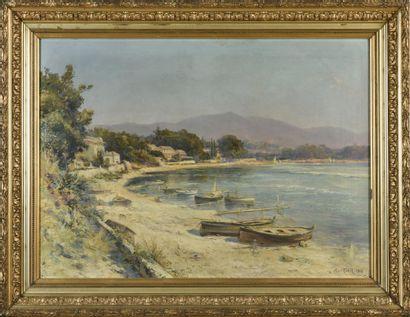 Jules IZIER (19ème, 20ème siècle)  Marine...