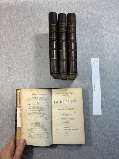 Arsène Houssaye. Galerie du XVIIIe siècle....
