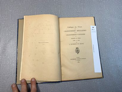 Révérend Du Mesnil. Catalogue des prieurs,...