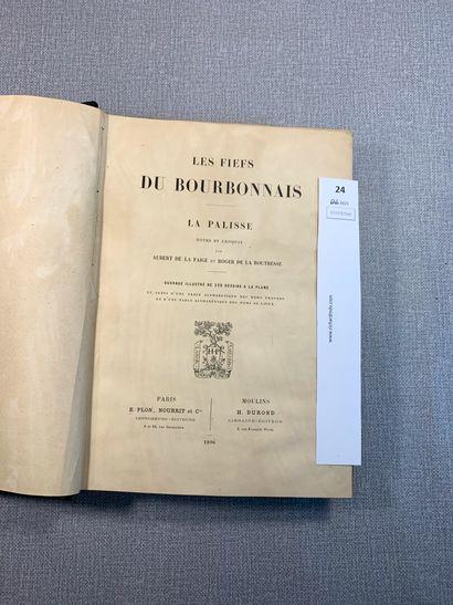 De La Faige et de De la Boutresse. Les fiefs...