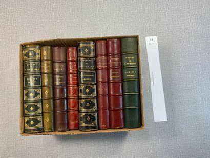 Editions Lemerre. Un ensemble de 8 volumes...
