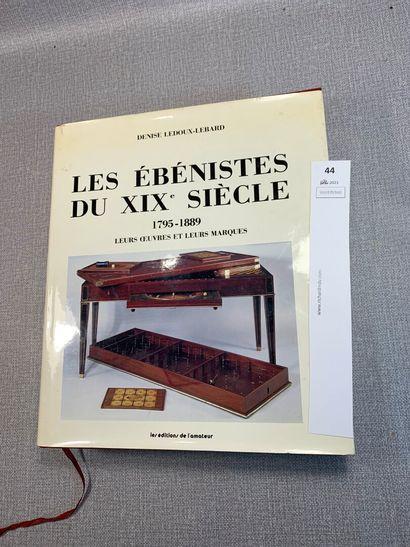 Denise Ledoux-Lebard. Les ébénistes du XIXe...