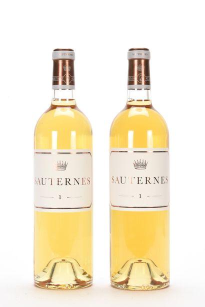 2 B N° 1 DE CHÂTEAU D'YQUEM Sauternes NM...