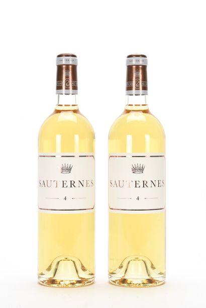 2 B N° 4 DE CHÂTEAU D'YQUEM Sauternes NM...