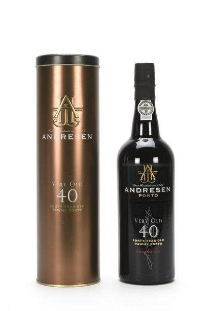2 B PORTO VERY OLD 40 ANS D'ÂGE 75 cl 20%...
