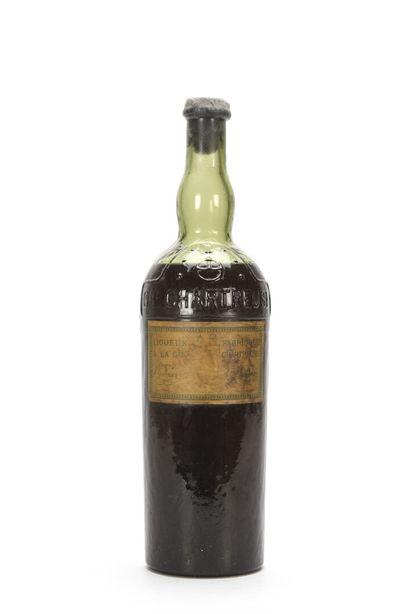 1 B CHARTREUSE JAUNE FOURVOIRIE PÉRIODE 1869-1878...