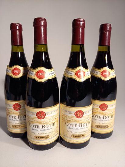 4 B CÔTE-RÔTIE Guigal 1995