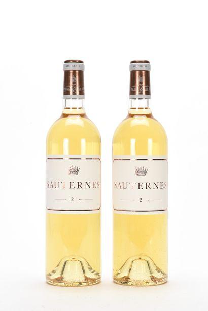 2 B N° 2 DE CHÂTEAU D'YQUEM Sauternes NM...