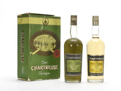 COFFRET CHARTREUSE TARRAGONE COMPRENANT (coffret...