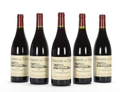 5 B VIN DE PAYS DE VAUCLUSE Rouge Domaine...