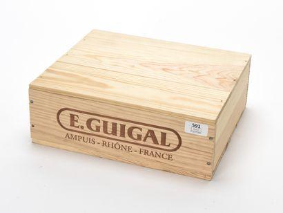 3 B CÔTE-RÔTIE (Caisse Bois d'origine) Guigal...