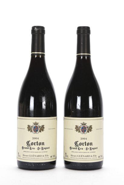 2 B CORTON (Grand Cru) (1 c.a.) Henri Guénard...