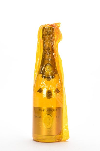 1 B CHAMPAGNE CRISTAL Louis Roederer 2012...