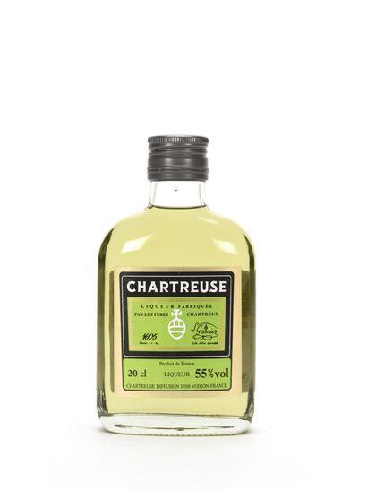 1 20 Cl FLASQUE CHARTREUSE VERTE CUVÉE DES...