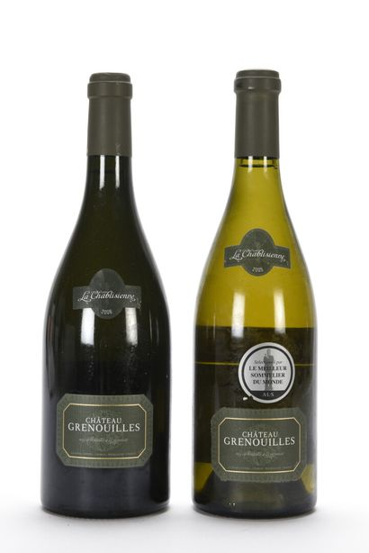 1 B CHABLIS GRENOUILLES (Grand Cru) La Chablisienne...