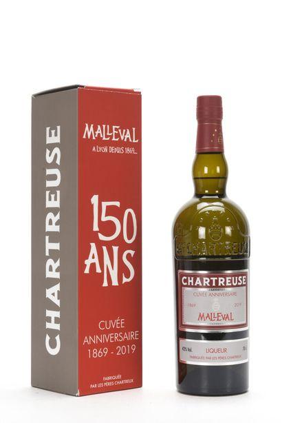 1 B CHARTREUSE CUVÉE ANNIVERSAIRE CAVE MALLEVAL...