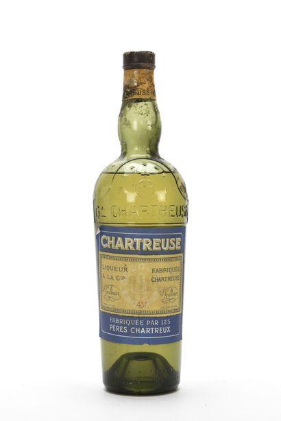 1 B CHARTREUSE JAUNE VOIRON PÉRIODE 1956-1964...