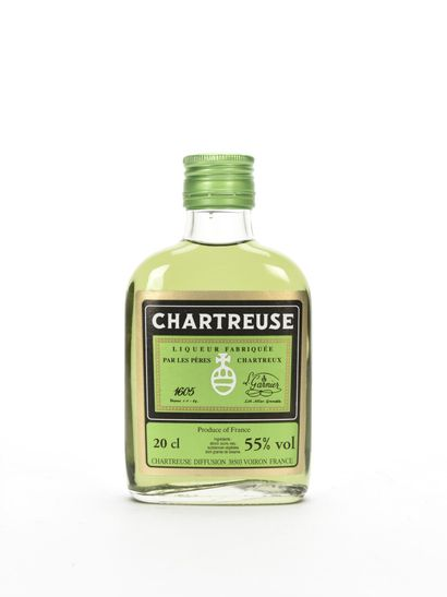 1 20 Cl FLASQUE CHARTREUSE VERTE CUVÉE LA...