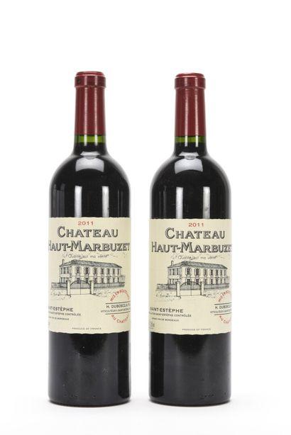 2 B CHÂTEAU HAUT MARBUZET Saint-Estephe ...