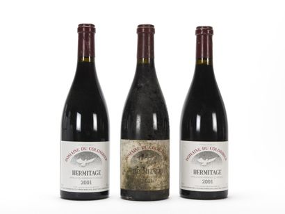 3 B HERMITAGE Rouge (1 e.t.h. fortes) Domaine...