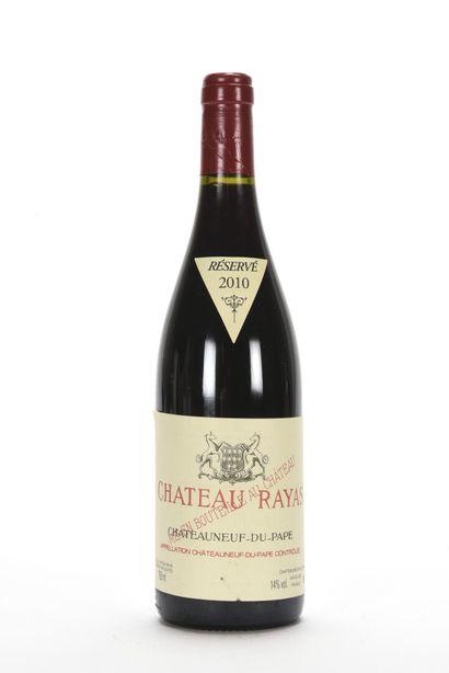 1 B CHÂTEAUNEUF DU PAPE Rouge (e.l.s.) Château...
