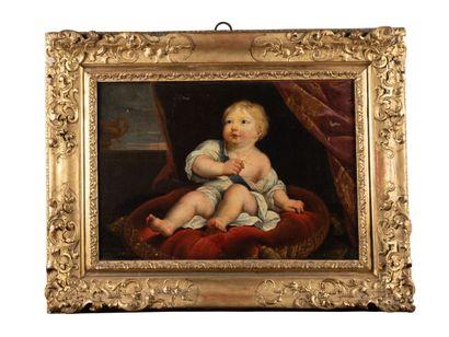 D'après MIGNARD, 18ème siècle  Portrait du...