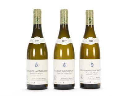 1 B CHASSAGNE-MONTRACHET MORGEOT Blanc (1er...