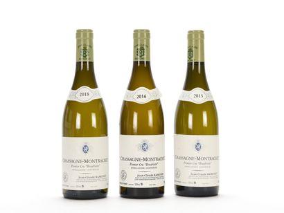 1 B CHASSAGNE-MONTRACHET BOUDRIOTTE Blanc...