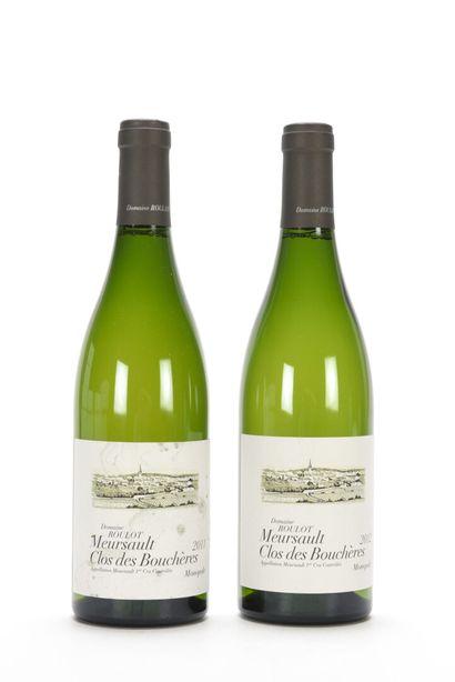 1 B MEURSAULT CLOS DES BOUCHÈRES (1er Cru) (e.t.h.) Domaine Roulot 2011  1 B MEURSAULT...