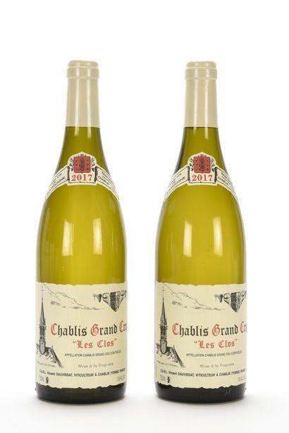 2 B CHABLIS LES CLOS (Grand Cru) Vincent...