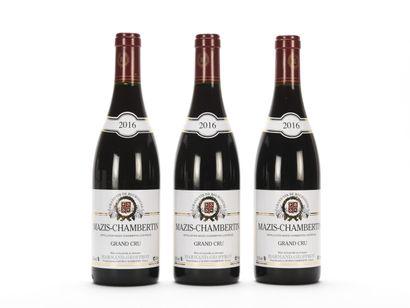 3 B MAZIS-CHAMBERTIN (Grand Cru) Harmand-Geoffroy...