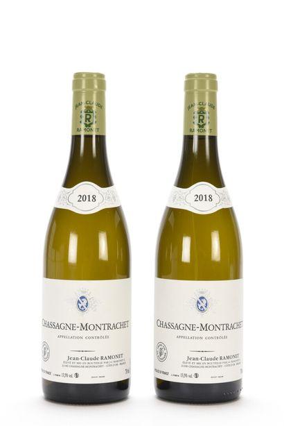 2 B CHASSAGNE-MONTRACHET Blanc Jean-Claude...