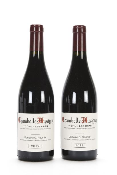 2 B CHAMBOLLE-MUSIGNY LES CRAS (1er Cru)...