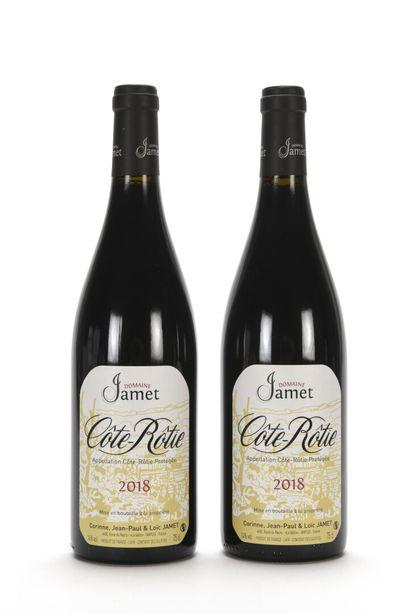 2 B CÔTE-RÔTIE Domaine Jamet 2018