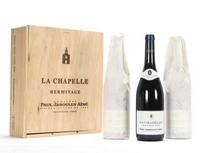 3 B HERMITAGE LA CHAPELLE (Caisse Bois d'origine)...