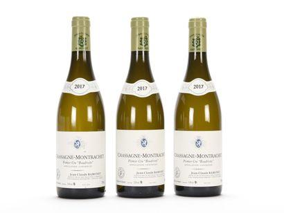 3 B CHASSAGNE-MONTRACHET BOUDRIOTTE Blanc...