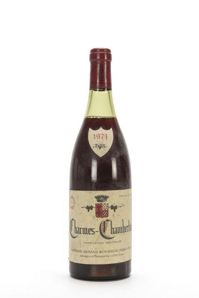 1 B CHARMES-CHAMBERTIN (Grand Cru) (3,5 cm;...