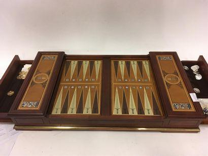 Un jeu backgammon Médailler Franklin Excalibur...