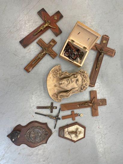 Lot de crucifix