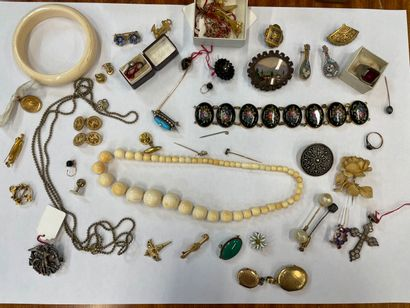 - bijoux fantaisie émail, brracelet en porcelaine...