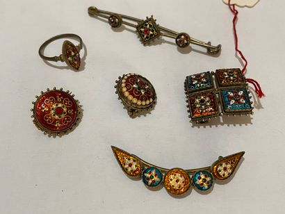 Quatre bijoux bressans
