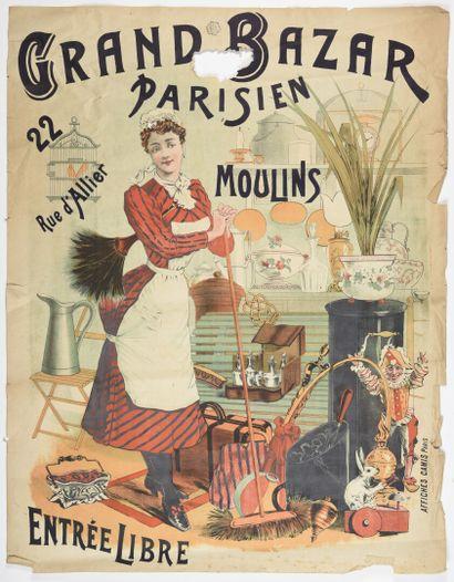 Grand Bazar Parisien de Moulins  Camis, cachet...