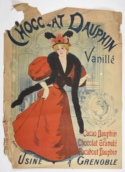 RAPP, Chocolat Dauphin à Grenoble,  Gerin...