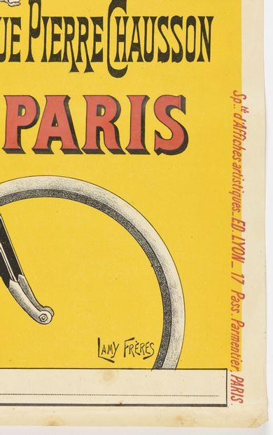 LAMY, PERLESS Cycles  72 x 50 cm  (légères rousseurs)