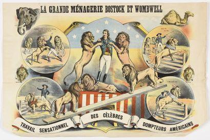 La Grande ménagerie Bostock et WOWBEL  Cirque...