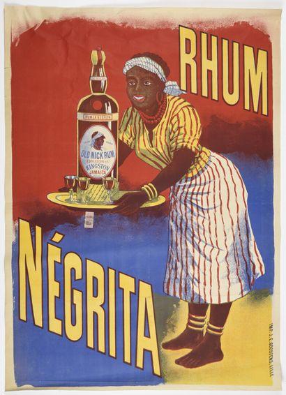 Négrita, Rhum Goosens 120 x 90 cm  (légèrement...